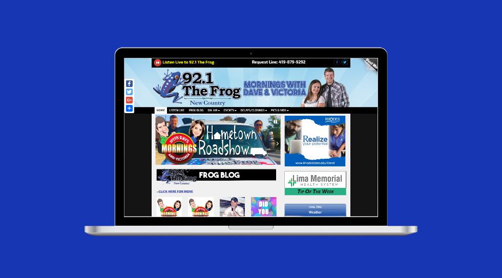 Website properties at Childers Media Group